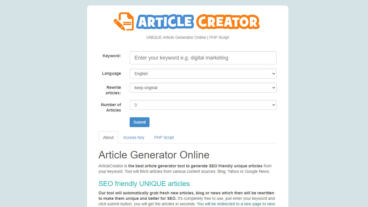 10 Best Online Article Generators (Free And Paid)