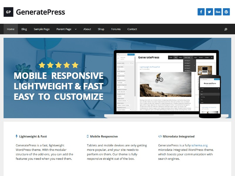 10 Fastest WordPress Themes to Use in 2021