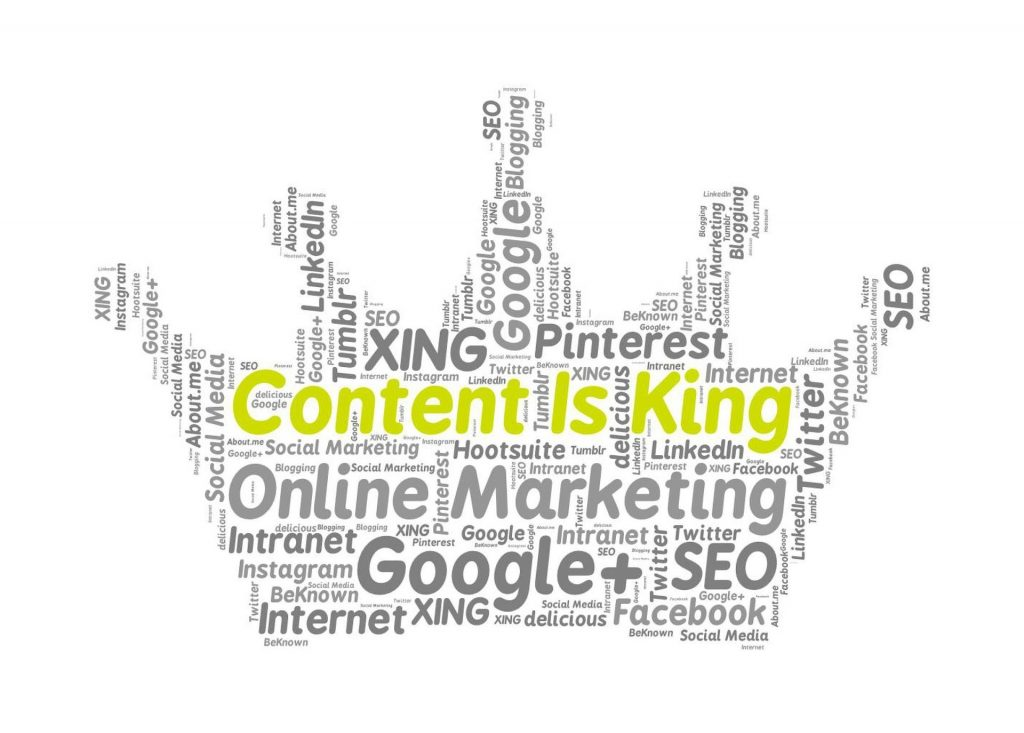 "What Is The Meaning Of ""Content Is King""?"