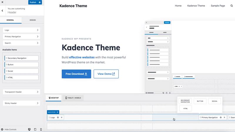 Kadence WP Theme Review