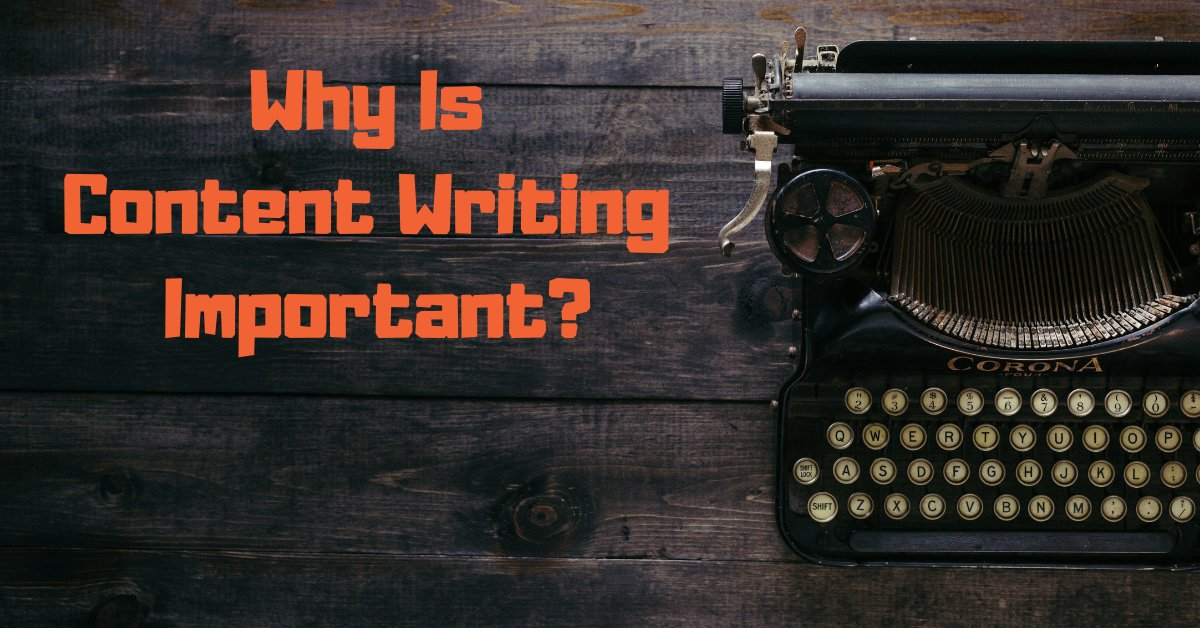 why is content writing important
