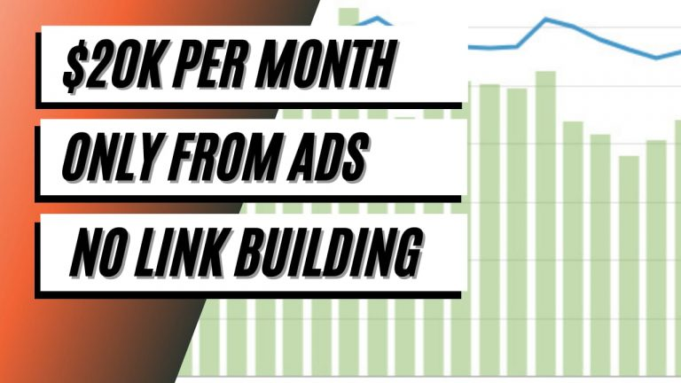 [CASE STUDY] 20 Months Journey to $20k/Month Only from Ads (Without Link Building)